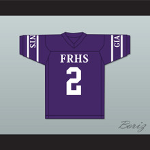 Charles Woodson 2 Fremont Ross High School Little Giants Purple Football Jersey 2