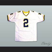 Charles Woodson 2 Michigan Wolverines White Football Jersey 2