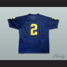 Charles Woodson 2 Michigan Wolverines Navy Blue Football Jersey