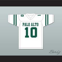 Davante Adams 10 Palo Alto High School Vikings White Football Jersey