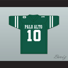 Davante Adams 10 Palo Alto High School Vikings Dark Green Football Jersey