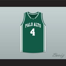 Davante Adams 4 Palo Alto High School Vikings Dark Green Basketball Jersey