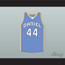 DeAndre Hopkins 44 D. W. Daniel High School Lions Light Blue Basketball Jersey
