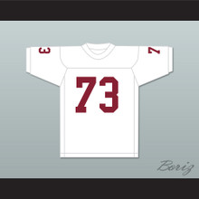 Art Shell 73 Maryland Eastern Shore Hawks White Football Jersey