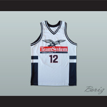 Dominique Wilkins 12 Team System Computers Software Basketball Jersey