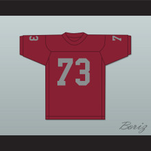 Art Shell 73 Maryland Eastern Shore Hawks Maroon Football Jersey
