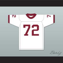 Bruce Matthews 72 Arcadia High School Apaches White Football Jersey 1
