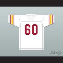 Bruce Matthews 60 USC Trojans White Football Jersey