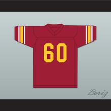 Bruce Matthews 60 USC Trojans Red Football Jersey