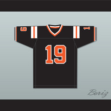 Joe Namath 19 Beaver Falls High School Tigers Black Football Jersey 1