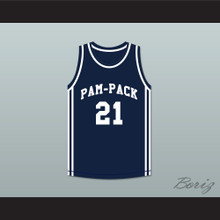 Dominique Wilkins 21 Washington High School Pam-Pack Basketball Jersey
