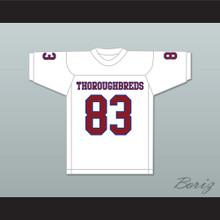 Ted Hendricks 83 Hialeah Senior High School Thoroughbreds White Football Jersey 2