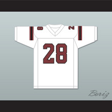 Adrian Peterson 28 Palestine High School Wildcats White Football Jersey 1