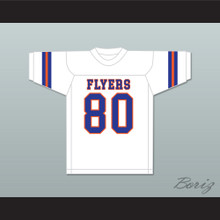 Kellen Winslow Sr 80 East St. Louis Senior High School Flyers White Football Jersey 2