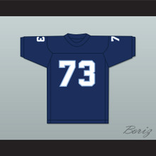 Larry Allen 73 Sonoma State Seawolves Navy Blue Football Jersey