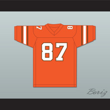Derrick Thomas 87 South Miami Senior High School Cobras Orange Football Jersey 1
