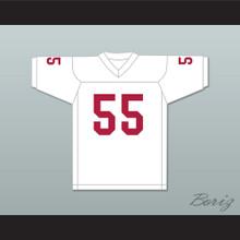 Derrick Thomas 55 Alabama Crimson Tide White Football Jersey