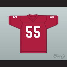 Derrick Thomas 55 Alabama Crimson Tide Red Football Jersey