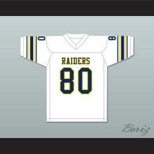 Michael Irvin 80 St. Thomas Aquinas High School Raiders White Football Jersey 2