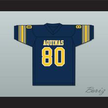 Michael Irvin 80 St. Thomas Aquinas High School Raiders Dark Blue Football Jersey 2