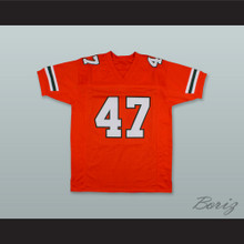 Michael Irvin 47 Miami Hurricanes Orange Football Jersey