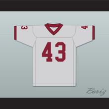 Troy Polamalu 43 Douglas High School Trojans Gray Football Jersey 1