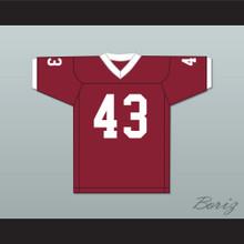 Troy Polamalu 43 Douglas High School Trojans Crimson Red Football Jersey 1