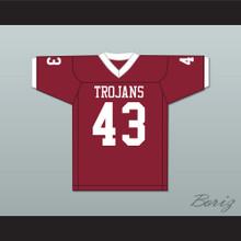 Troy Polamalu 43 Douglas High School Trojans Crimson Red Football Jersey 2