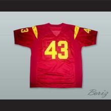 Troy Polamalu 43 USC Trojans Red Football Jersey