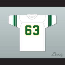 Willie Lanier 63 Maggie L. Walker Governor's School Dragons White Football Jersey 1