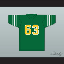 Willie Lanier 63 Maggie L. Walker Governor's School Dragons Green Football Jersey 1