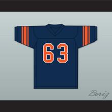 Willie Lanier 63 Morgan State Bears Navy Blue Football Jersey