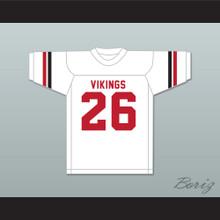 Herb Adderley 26 Northeast High School Vikings White Football Jersey 2