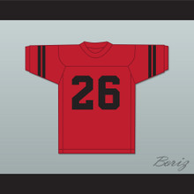 Herb Adderley 26 Northeast High School Vikings Red Football Jersey 1