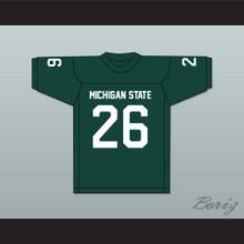 Herb Adderley 26 Michigan State Spartans Green Football Jersey