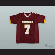 Michael Vick 7 Warwick High School Raiders Maroon Football Jersey