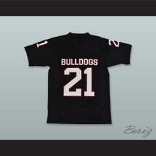 Nick Chubb 21 Cedartown High School Bulldogs Black Football Jersey