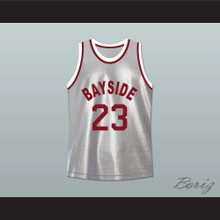 Saved By The Bell AC Slater 23 Bayside Tigers Basketball Jersey