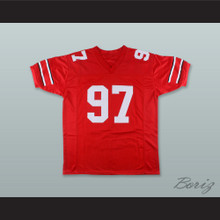 Nick Bosa 97 Ohio State Buckeyes Red Football Jersey
