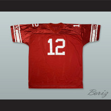 Randall Cunningham 12 UNLV Rebels Scarlet Red Football Jersey