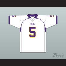 Mike Evans 5 Ball High School Tors White Football Jersey