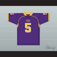 Mike Evans 5 Ball High School Tors Purple Football Jersey