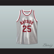 Saved By The Bell 25 Bayside Tigers Basketball Jersey