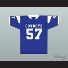 Shaquil Barrett 57 Boys Town High School Cowboys Blue Football Jersey 2