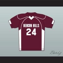 Stiles Stilinski 24 Beacon Hills Cyclones Lacrosse Jersey Teen Wolf