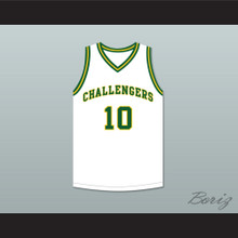 Tim Hardaway 10 Carver Military Academy Challengers White Basketball Jersey