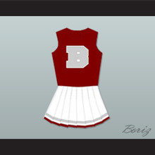 Saved By The Bell Bayside Tigers High School Cheerleader Uniform