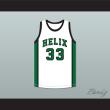 Bill Walton 33 Helix High School Scotties White Basketball Jersey 1