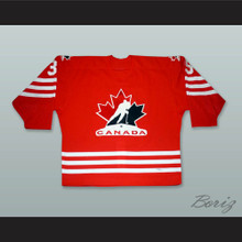 Gauthier 35 Canada National Team Red Hockey Jersey
