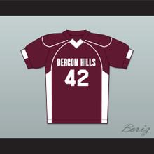 Scott Howard 42 Beacon Hills Cyclones Lacrosse Jersey Teen Wolf